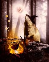 Halloween by KarinClaessonArt