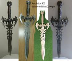 Sword pack 1 by KarinClaessonArt