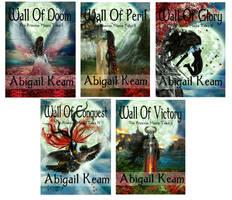 The Princess Mauras Tales 5-book tales by KarinClaessonArt
