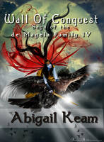 Wall  Of Conquest Book Cover IV by KarinClaessonArt