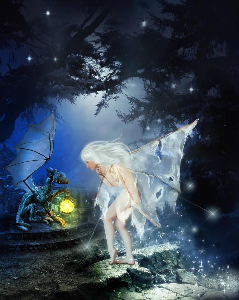 In Distress by KarinClaessonArt