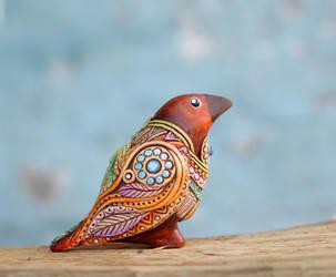 Clay Bird by nicsadika