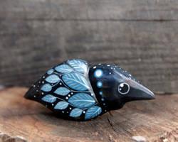 Snow Raven by nicsadika