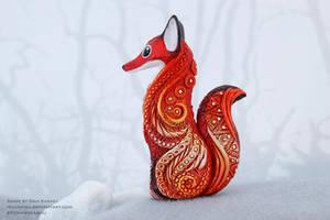 Fennec totem figurine by nicsadika