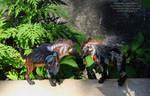 Winged Hyenas by nicsadika