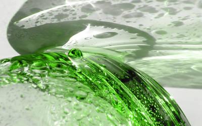 my green glass of water by mayoofka