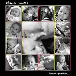 mikaela 3 month by mayoofka