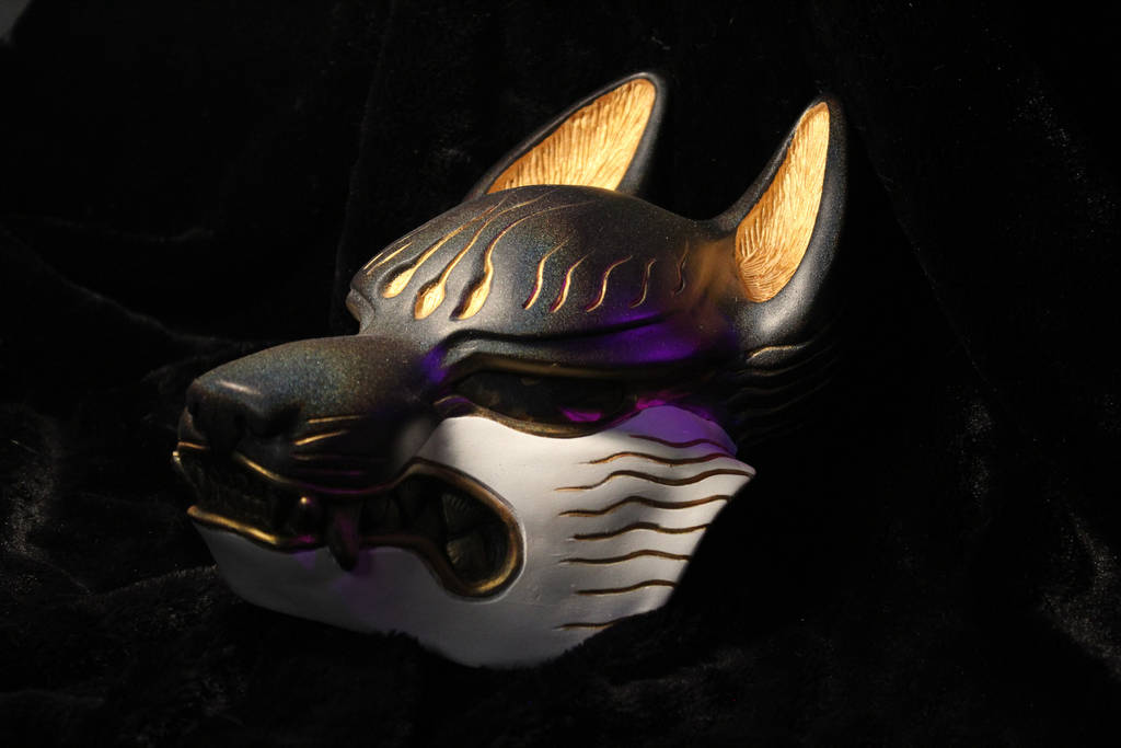 Fox Mask by Fetchbeer