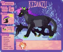 {Kebanzu Registration} - Francis by X88B8