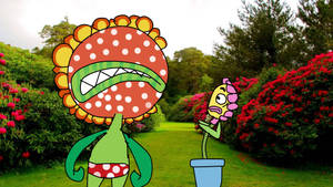 What are U doing in my Garden (Leslie and Petey) by AdminDanielCross
