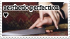 Aesthetic Perfection stamp by Liliothe