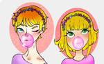 Headshot Flower Siblings Adoptables (OPEN) by Adopties-here