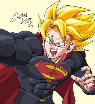 Super Goku Nivel 1 by Crishark