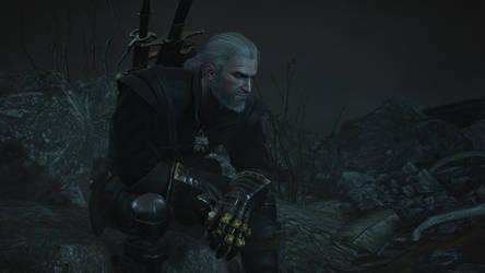The Witcher 3 Geralt Wallpaper by Crishark
