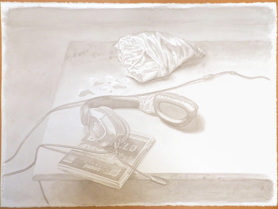 Still life with headphone by DanielDescamps