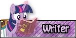 FiM Custom Rank - Writer by FrozenNightingale