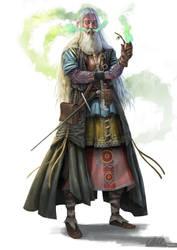 Smoking Viking by Kallasch