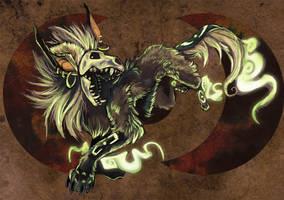 Comission: Skulldog by Droemar