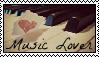 Music Lover Stamp by allyalltheway