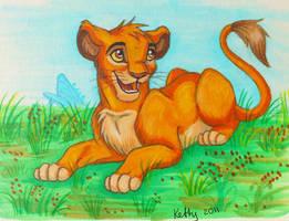 Little cub by Fur-kotka