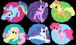 Ponies by Fur-kotka