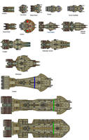 Mohljaniir Fleet Preview by wbyrd