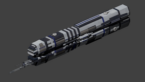 Fleet Destroyer Gun Armed DDE by wbyrd