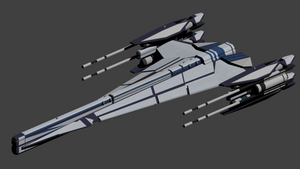 Apache Class Strike Frigate by wbyrd