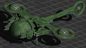 AQg-954  'Kolibri' Light Attack Drone-Gravitic by wbyrd