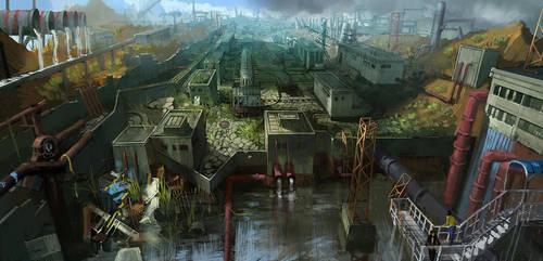 Industry of rusty by zhangc