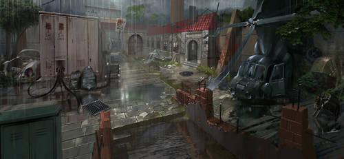 dark town by zhangc
