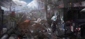 fallout by zhangc