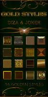 Gold styles - 7 by DiZa-74