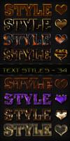 Text styles - 34 by DiZa-74