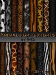 Animal fur textures by DiZa-74