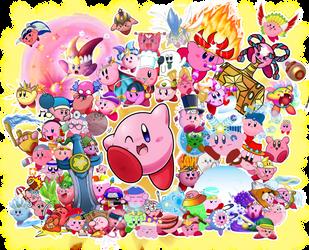 24 Years of Kirby! by Hiyukee