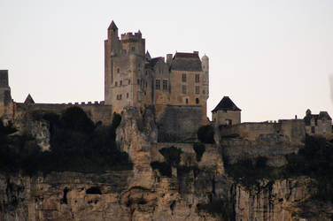 The Medieval fortress of Beynac. by DisturbedAzura