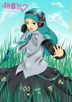 Hatsune Miku Hijab Version by RN-danistha