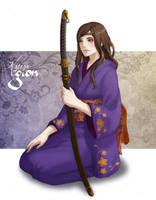 Commission - Fuchida Kotoko by Lowenael