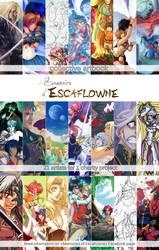 Memories of Escaflowne, collective artbook by Lowenael