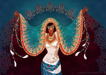 La cantatrice by Lowenael