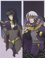 Dark Mages by midgaardian