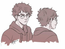 Harry -- Short Hair by midgaardian