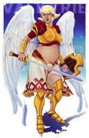 Valkyrie - for the Fat Superhero Contest by neomeruru