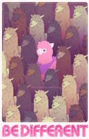 Be Different! by neomeruru