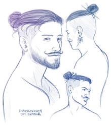 Dorian - bun sketches by neomeruru