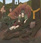 Lost in the Trees by neomeruru