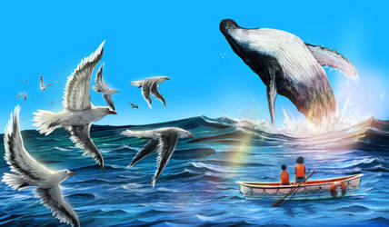 Whale Novel by redcode77