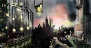 morning sci-fi by LudvikSKP