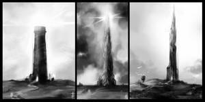 the dark tower by LudvikSKP